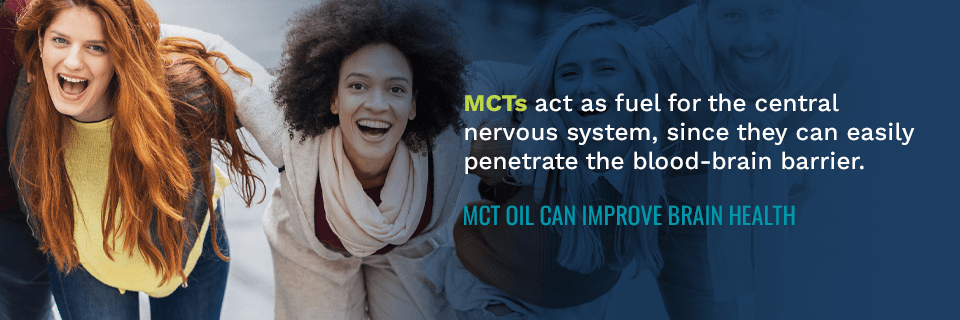MCT Oil Can Improve Brain Health