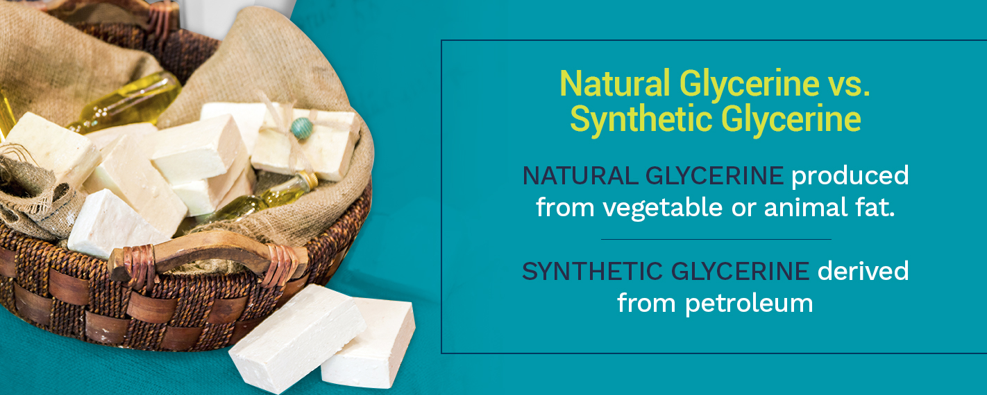 Natural Glycerine vs. Synthetic Glycerine