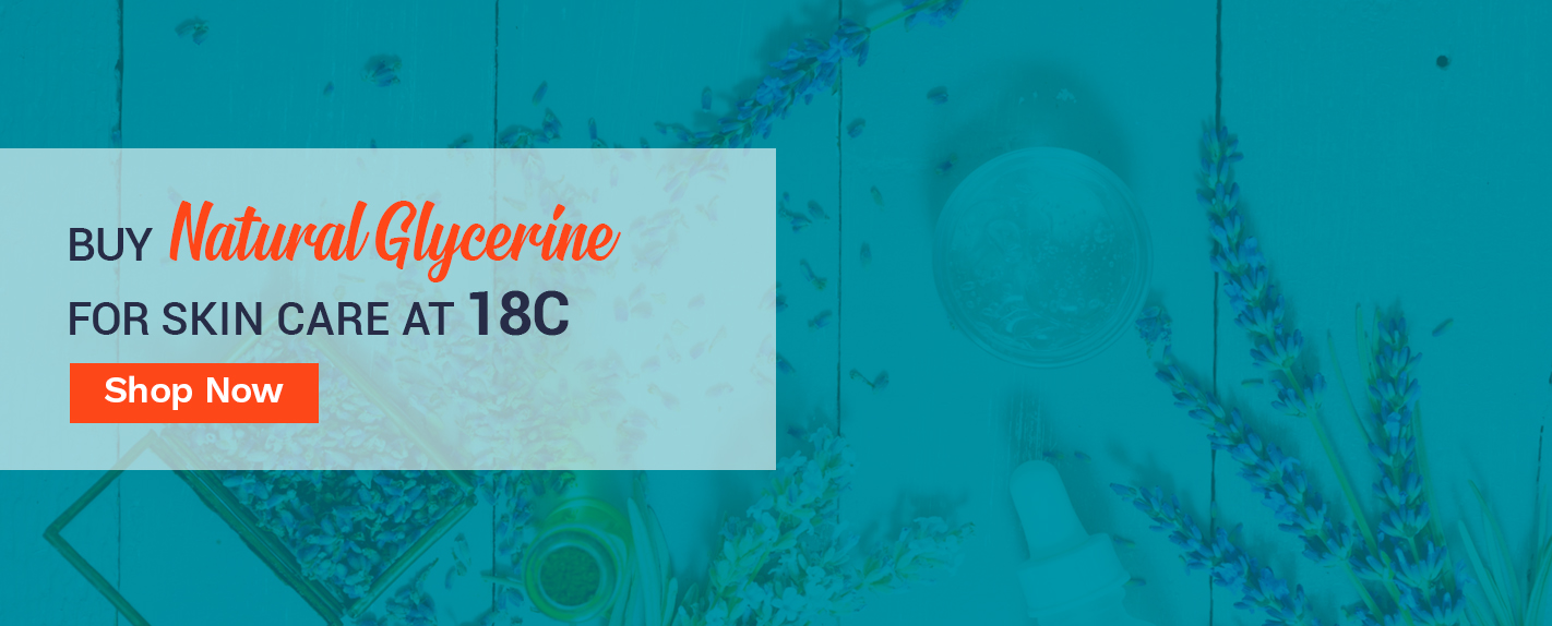 Buy Natural Glycerine for Skin Care at 18c