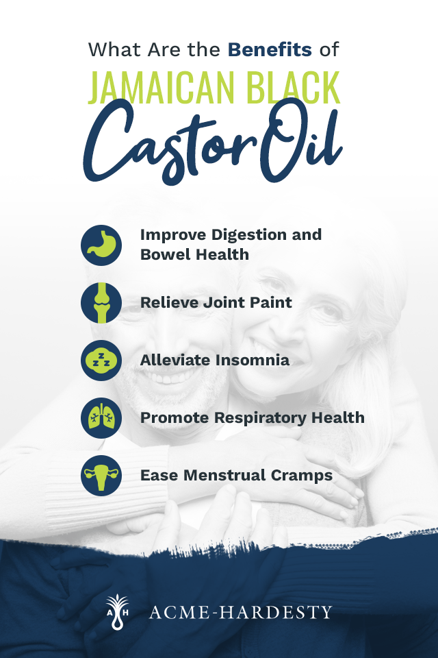 Benefits of Jamaican Black Castor Oil